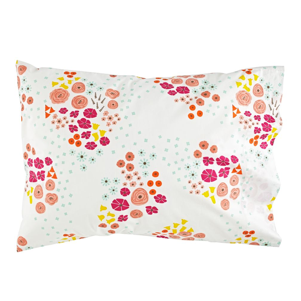 Flower Show Organic Pillowcase