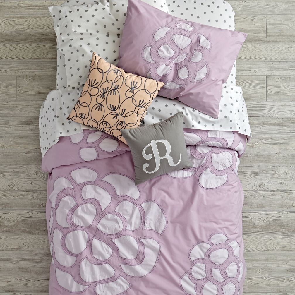 Flower Bud Duvet Cover