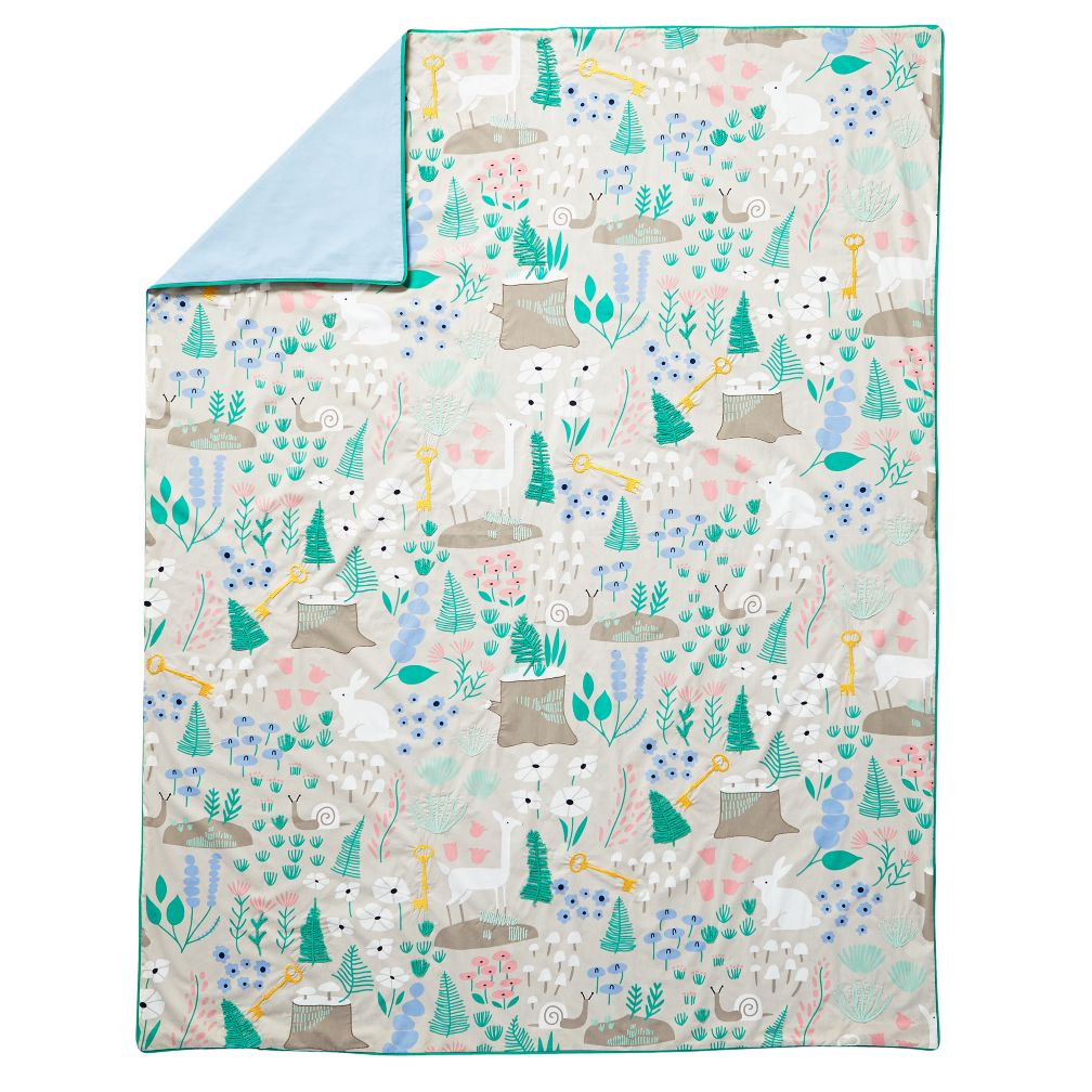 Twin Folktale Forest Duvet Cover