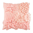 Pink Fresh Cut Floral Throw PillowIncludes Cover and Insert