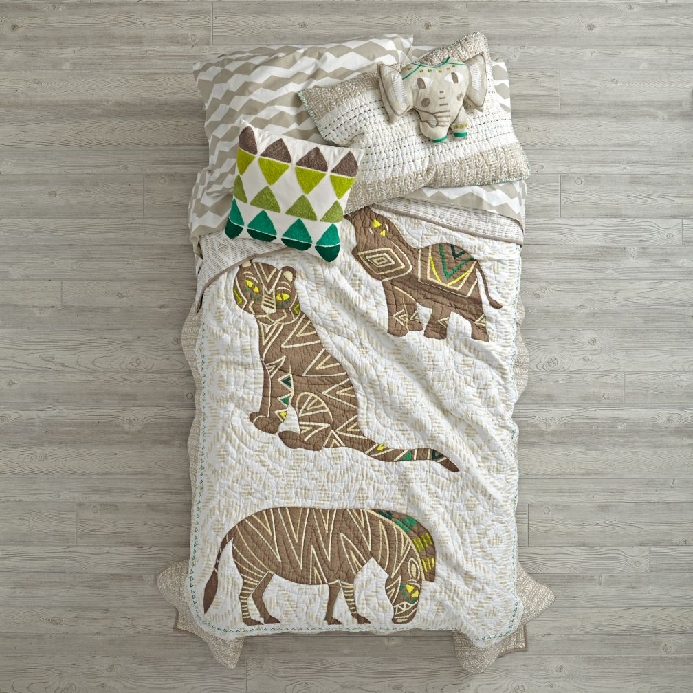 Safari Bedding and Quilt