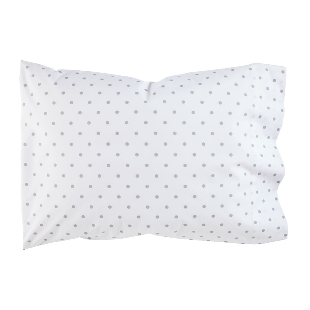Go Lightly Pillowcase (Grey Dot)