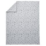 Twin Go Lightly Floral Duvet Cover (Grey)
