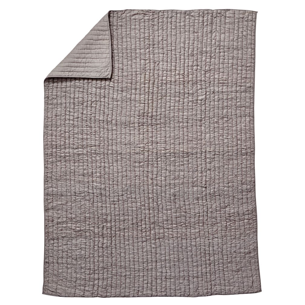 Twin Go Lightly Quilt (Grey)