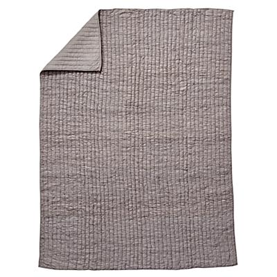Full-Queen Go Lightly Quilt (Grey)