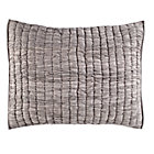 Grey Go Lightly Quilted Sham