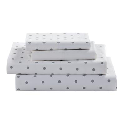 Full Go Lightly Sheet Set (Grey Dot)