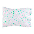Mint Triangle Go Lightly Pillowcase