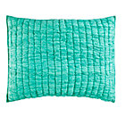 Mint Go Lightly Quilted Sham