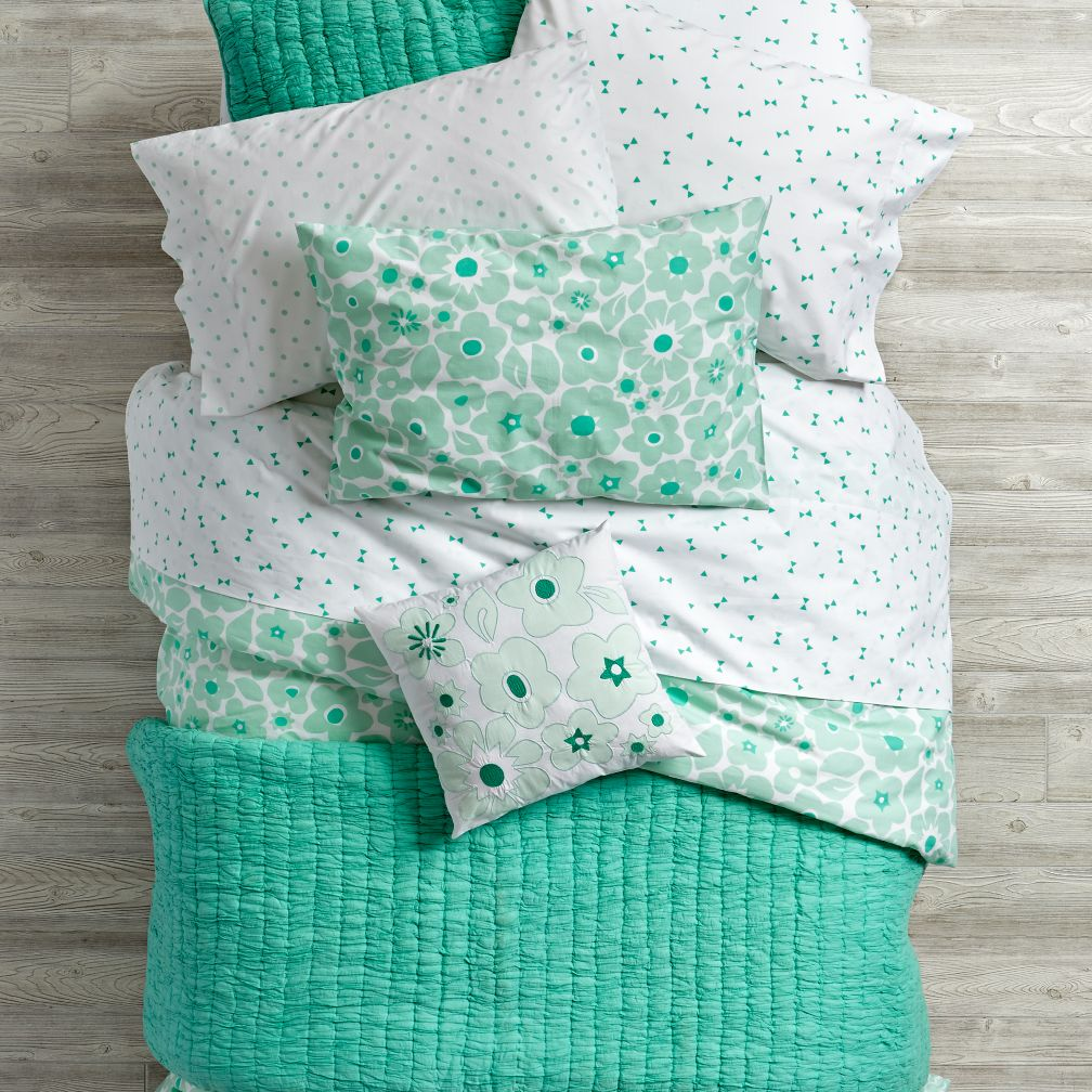 Go Lightly Quilt (Mint)