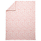Twin Pink Go Lightly Floral Duvet Cover.