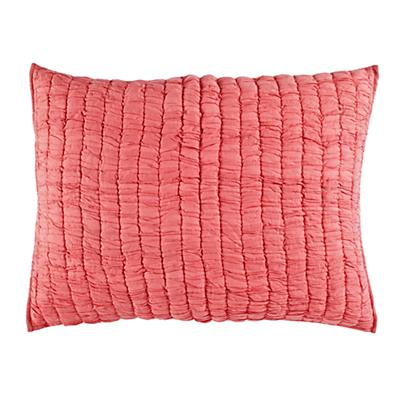 Go Lightly Quilted Sham (Pink)