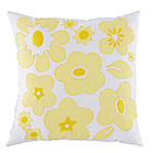 Yellow Go Lightly Throw Pillow