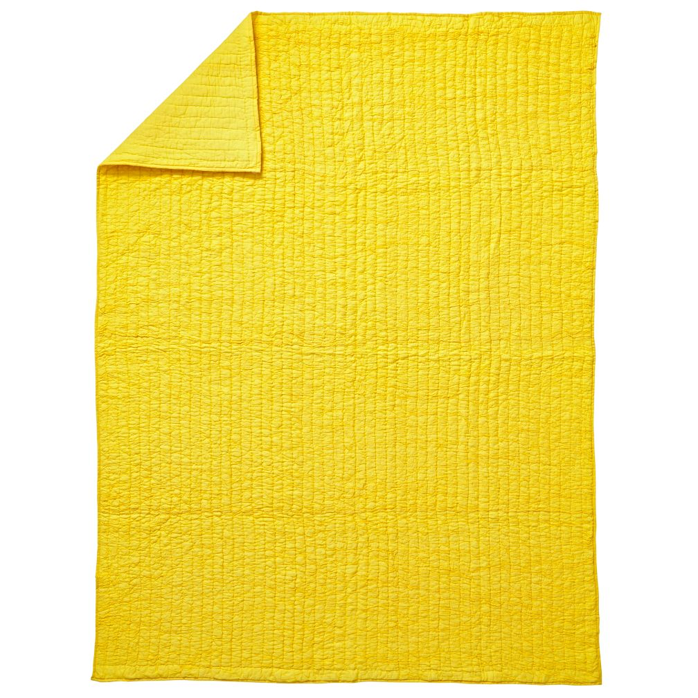 Twin Go Lightly Quilt (Yellow)