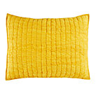 Yellow Go Lightly Quilted Sham