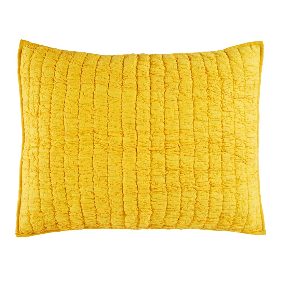 Go Lightly Quilted Sham (Yellow)