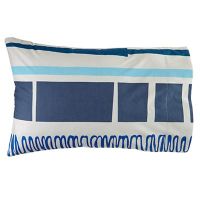 High Frequency Squares Pillowcase