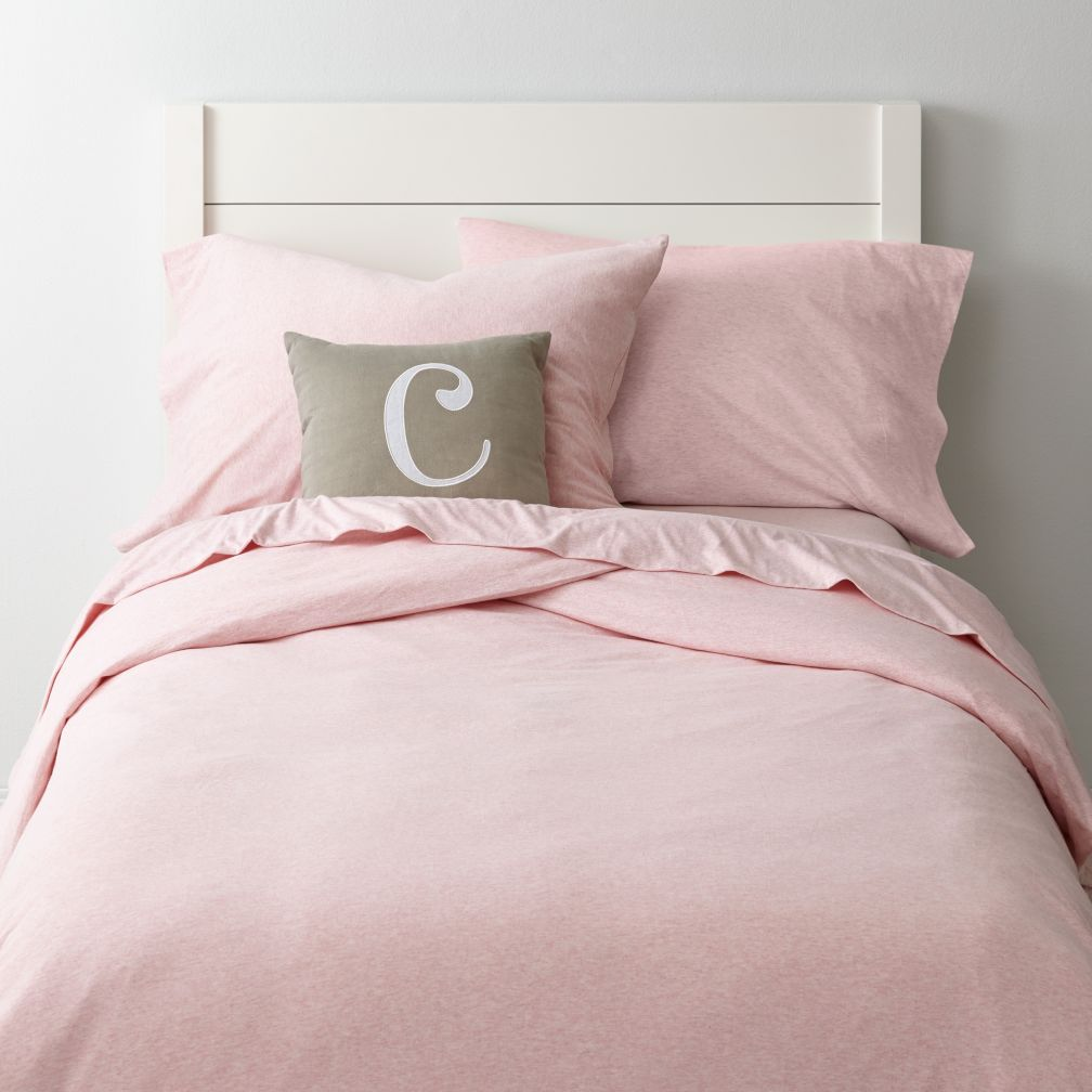Pure Jersey Duvet Cover (Pink)