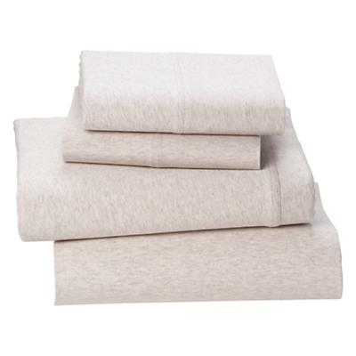 Queen Pure Jersey Sheet Set (Natural)
