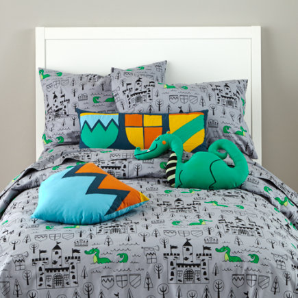 Medieval Castle Twin Bedding