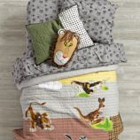 Tawny Scrawny Lion Kids Bedding