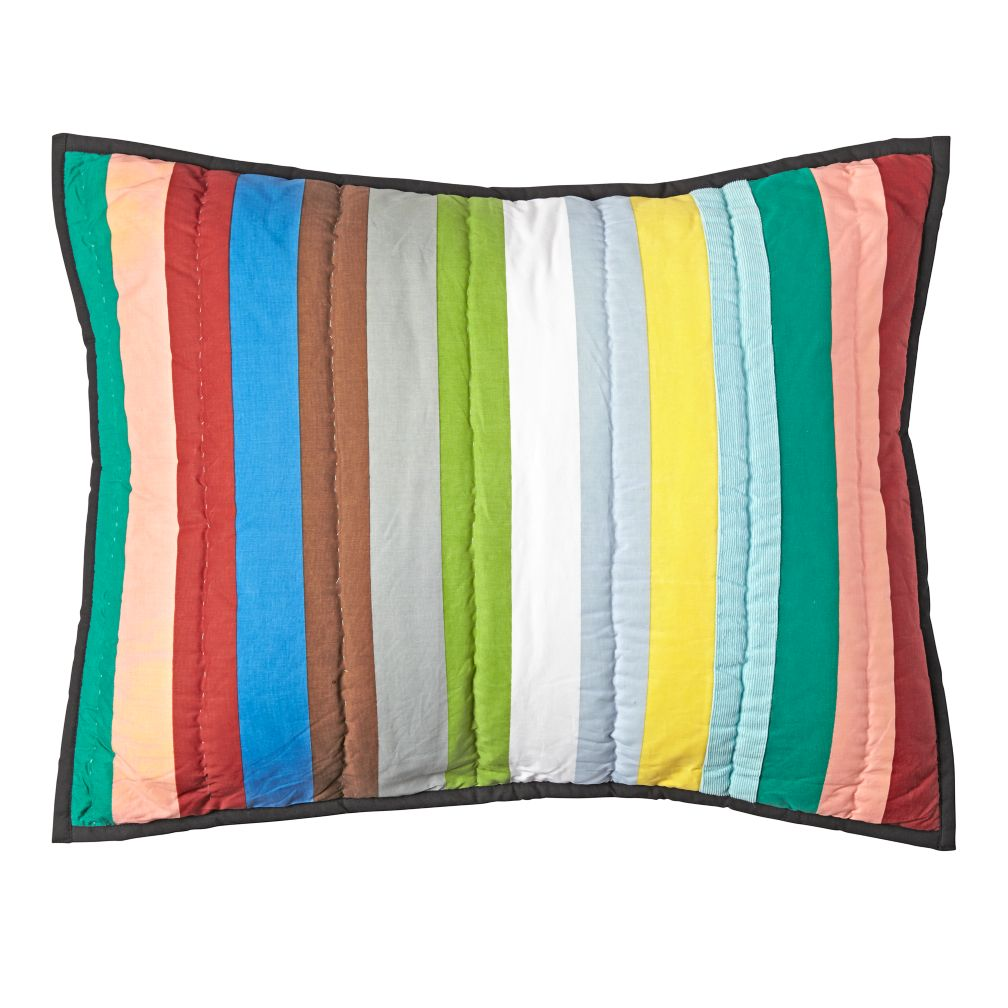 Charley Harper Striped Sham