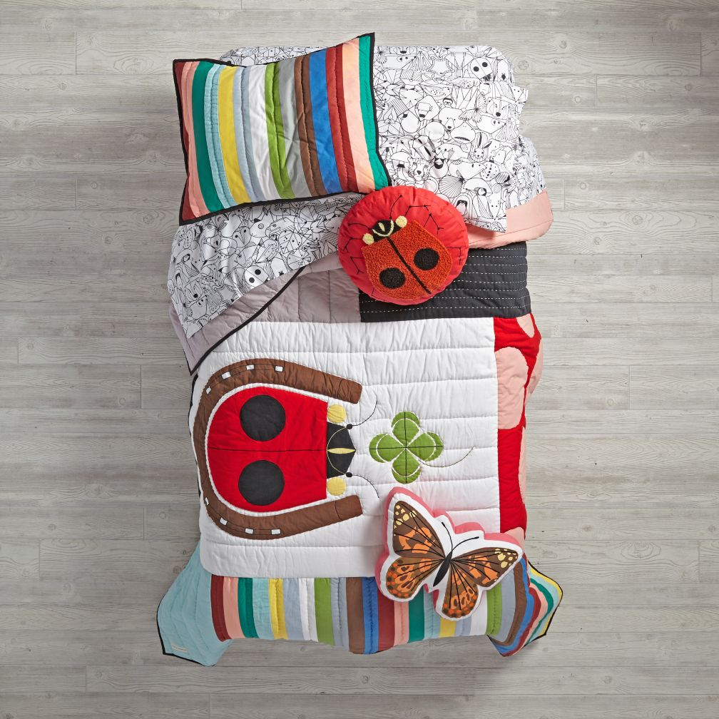 Charley Harper Lucky Ladybug Quilt