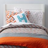 Little Prints Quilt (Orange)