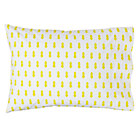Yellow Rocket Little Prints Pillowcase
