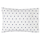 Blue Triangle Little Prints Pillowcase