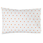 Orange Triangle Little Prints Pillowcase