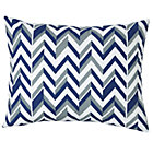 Blue Zig Zag Little Prints Sham