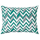 Green Zig Zag Little Prints Sham