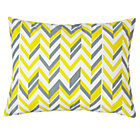Yellow Zig Zag Little Prints Sham