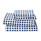 Full Blueberry Print Sheet SetIncludes fitted sheet, flat sheet and two pillowcases