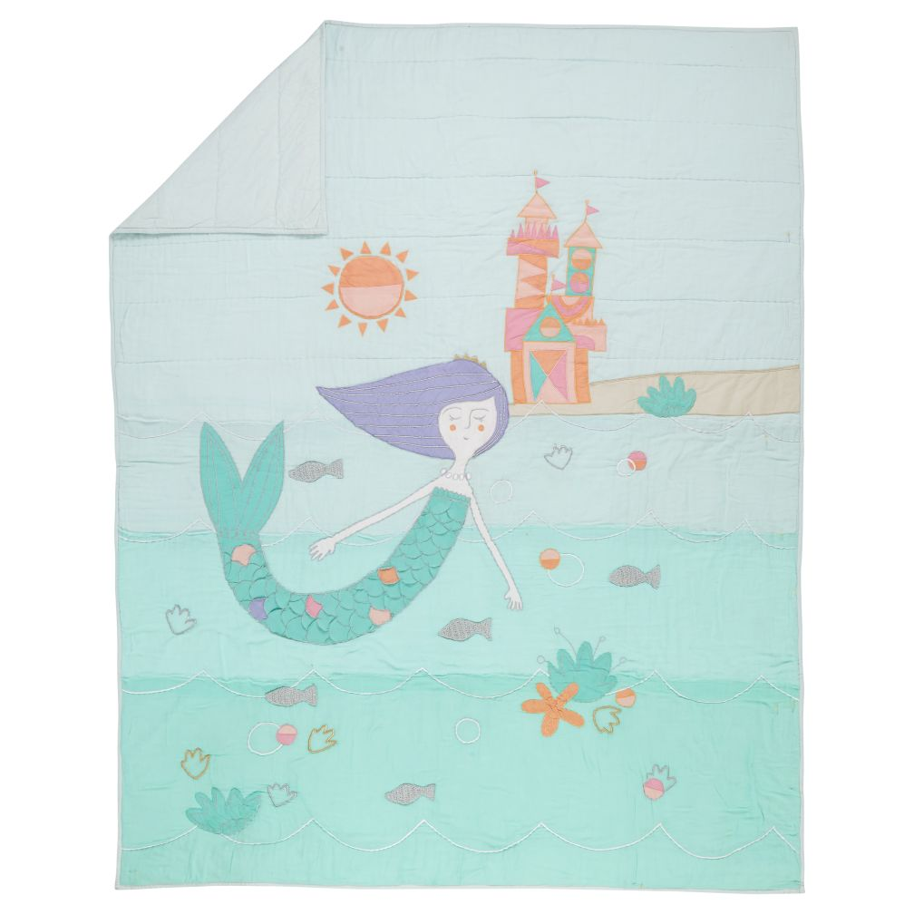 Twin Mermaid Mixer Quilt