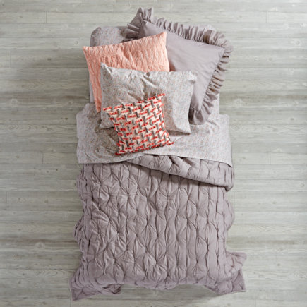 Twin Grey Modern Chic Quilt