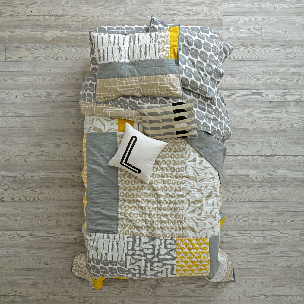 Modern Mix Bedding and Quilt