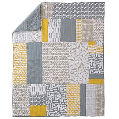 Full-Queen Modern Mix Quilt