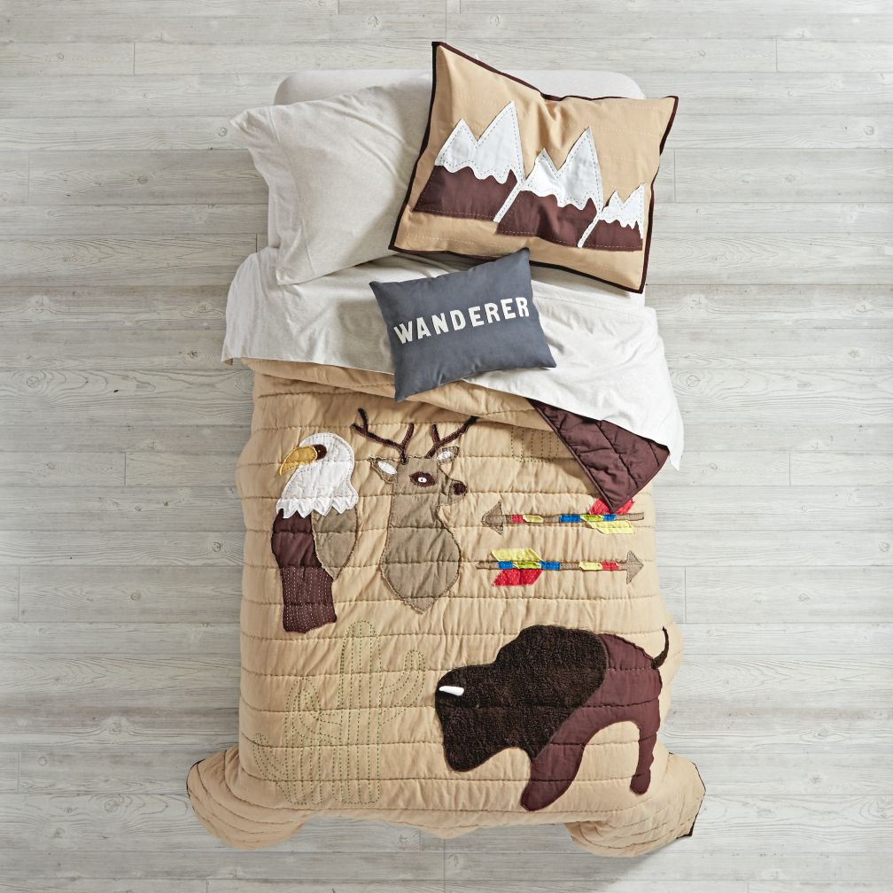 - Twin Nature Lodge Quilt