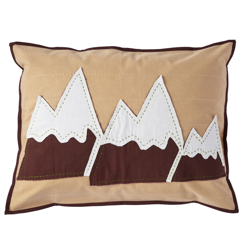 - Nature Lodge Sham - Mountain Pillow Sham