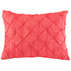 Hot Pink Neon Sprinkle Quilted Sham