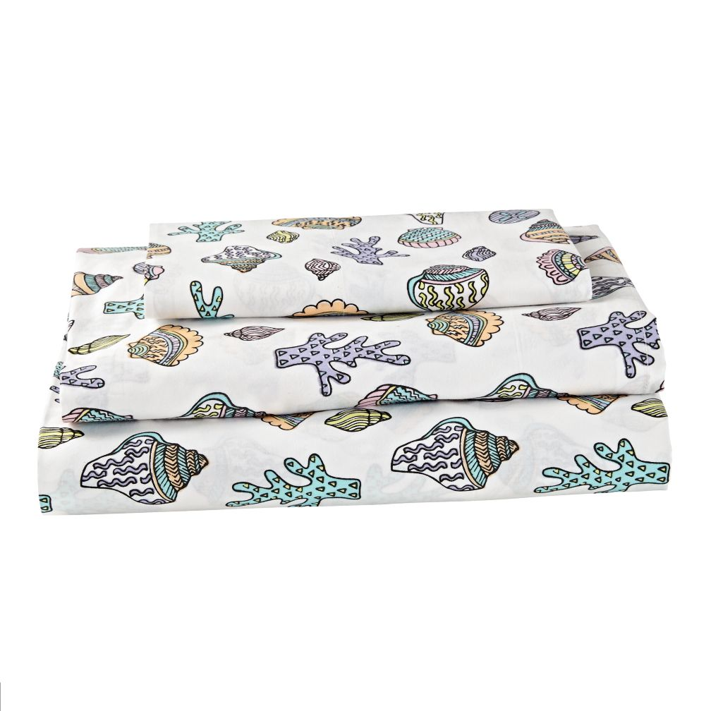 New Wave Nautical Sheet Set (Twin)