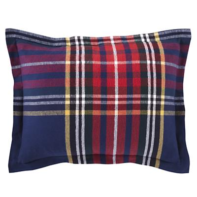 Northwoods Flannel Sham (Red Plaid)