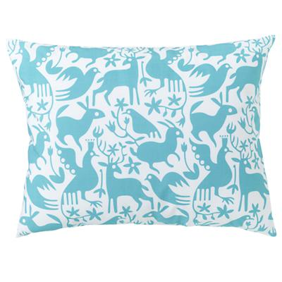 Animales Gráficos Teal Sham