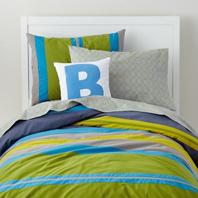 Stylish Modern Toddler Boy Bedding