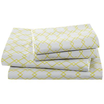 Grey Diamonds Sheet Set (Full)