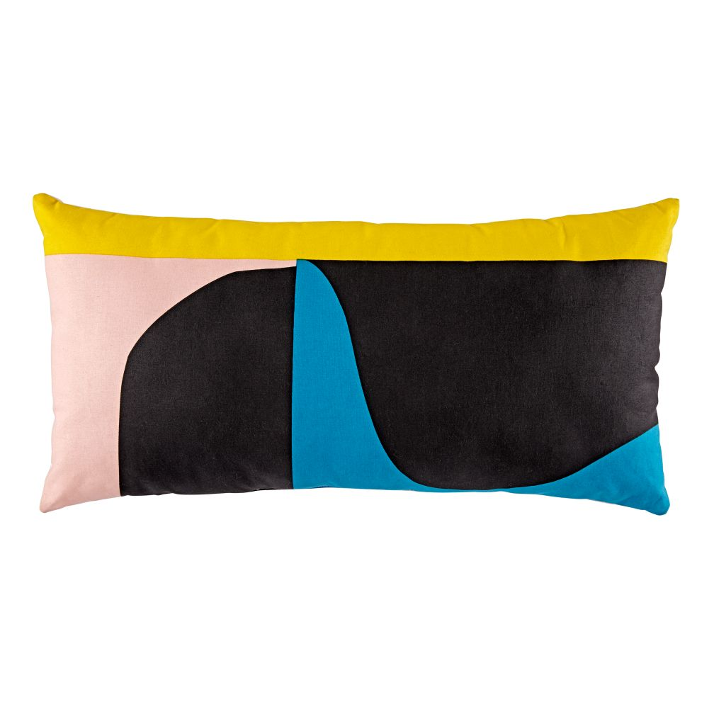 Abstract Throw Pillow (Multi)
