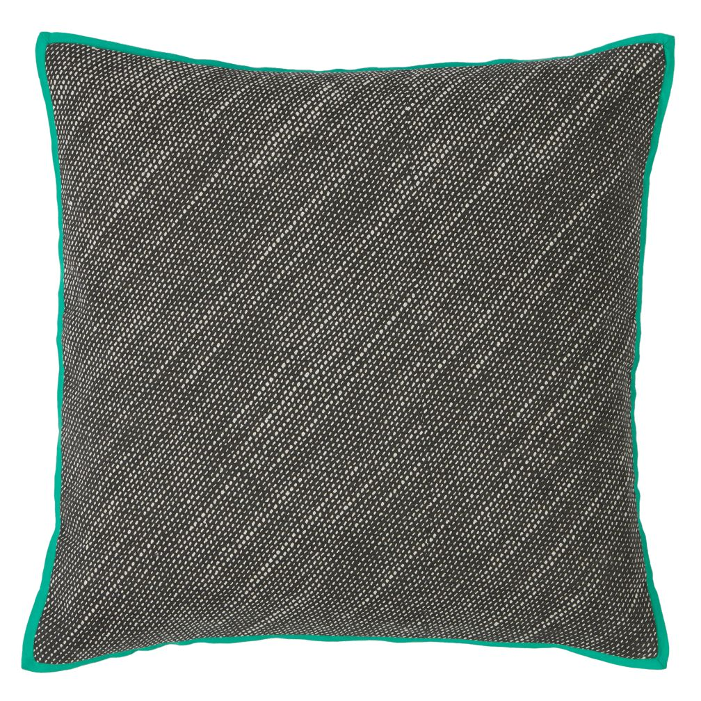 Printed Dot Throw Pillow Cover