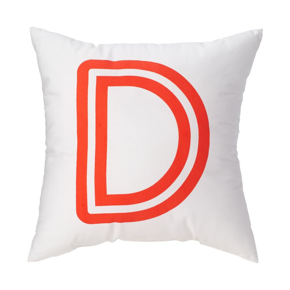 J Bright Letter Throw Pillow The Land of Nod